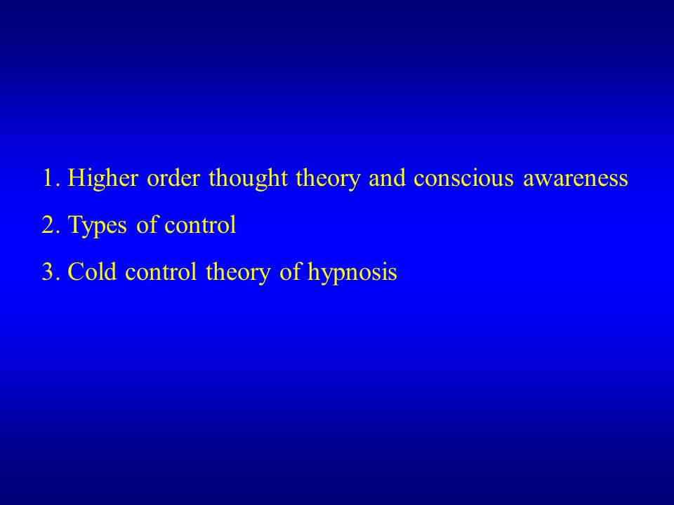 Thought Theory